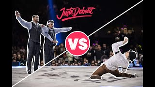 Ness & Poppin C vs Nelson & Greenteck – Juste Debout 2018 Popping Final