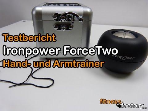 Ironpower ForceTwo Arm- und Handtrainer im Test