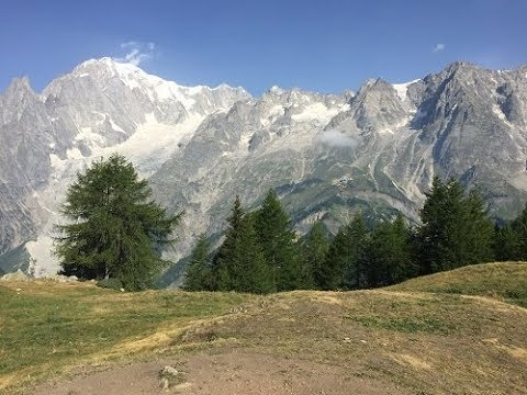 Tour du Mont Blanc (TMB) walk  - July
