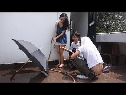 photo - Stuck at home during the rainy season? Or too hot to bother going out to take photos? Here's a photo idea that you can try at home (try not to flood your hou...