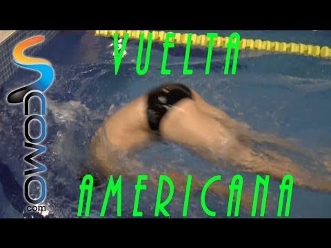 Americana - Saber dar la vuelta cuando llegas al final de la piscina es básico para cualquier entrenamiento o técnica de natación y sin duda este vídeo de unComo te ense...