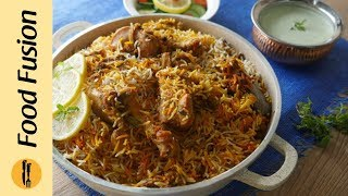 Chicken Masala Biryani (Street Style) By Food Fusion