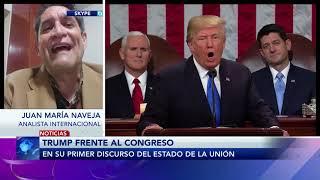 Entrevista a Juan María Naveja Analista Internacional sobre el discurso de Donald Trump