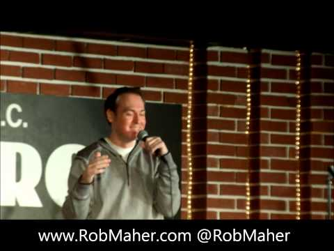 Rob Maher at the DC Improv - How Long Should Sex Last?