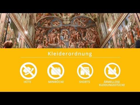 Vatikanische Museen – Dienstleistungen für die Besucher
