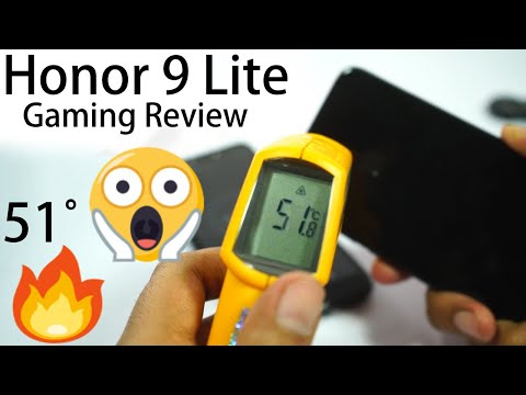 Honor 9 Lite Gaming Review, Heat Test and Battery Drain Test