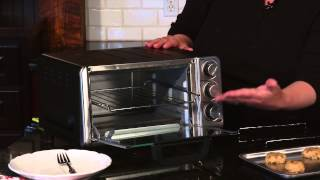 Compact Toaster Oven Broiler Demo Video Icon