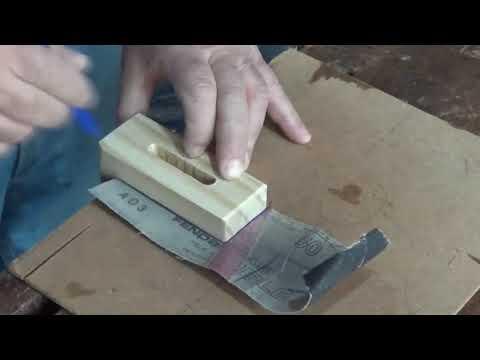 Fabricación de dispositivo para enderezar madera