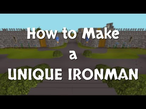 A Guide To Making A Unique OSRS Ironman