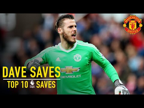 Download David De Gea's Top 10 Premier League Saves | Dave Saves | Manchester United