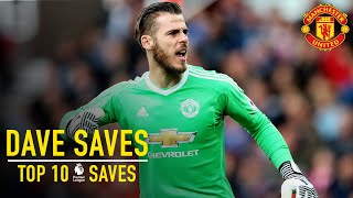 Video David De Gea's Top 10 Premier League Saves | Dave Saves | Manchester United MP3, 3GP, MP4, WEBM, AVI, FLV Desember 2018