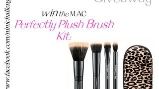 MAC Perfectly Plush Brush Kit : Mineralize GIVEAWAY - Closed
