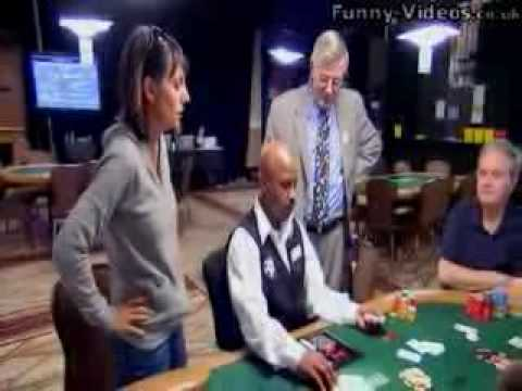 poker dealer makes huge mistake