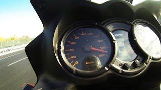 8. Suzuki V-Strom DL 650 0-100 km/h (0-60 mph) acceleration & Top Speed
