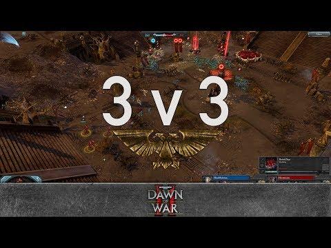 Dawn of War 2 - Faction Wars 2018 | Eldar vs Tyranids