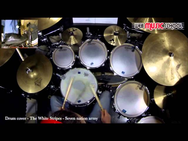 The White Stripes Seven Nation Army Drum Cover : Mp3DownloadOnline.com