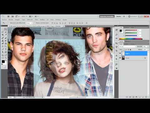 Fotomontaje Profesional - Cambiar rostro - Tutorial de Photoshop