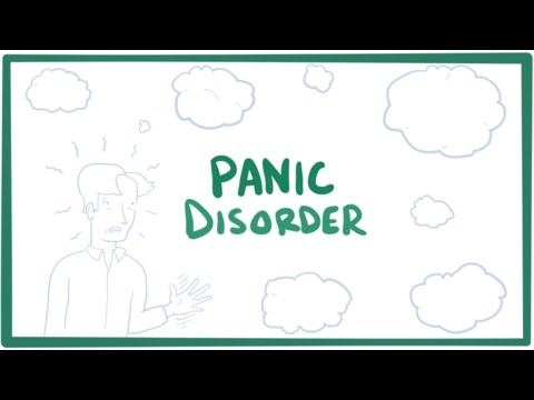Panic Disorder - Panic Attacks, Causes, Symptoms, Diagnosis, Treatment & Pathology