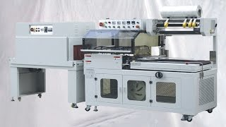 Automatic L-type Sealer&Shrinking Machine PE film shrinkage overwrapping packaging machineSealing system: Stable heating system, easy to change cutter, no smoke and stink, PLC control system Operation panel: Eview color touch screen Main material: Stainless steel The far-infrared shrink packging machine adopts quartz far-infrared tube as heating source.Main function:L bar sealer is an automatic film bag making, bag sealing and shrink wrapping machine. L bar type cutter can easily seal the POF film without broken.Auto photo sensor detecting and auto cutting.Wrong cutting protection. Safety.Machine error alarm.E-stop install.Very easy packing size change over.Adopt waste film collecting system. User will have a tidy working condition.Machine can be used in many industries. Such as: food industry, medicines, hardware, cosmetics, daily use chemical industry, electronics and furniture.basic parameter of automatic L sealing shrinking tunnel for cosmetic boxes small carton sealer film heating wrapper Cajas que sellan la máquina que encoge:Max. film size Φ280*W530mmAir compressor 0.5Mpa (5 bar)PLC SIEMENSOperation interface :Colorful touchscreen displayMachine material Stainless steelHeight of working table:780-850mmMachine dimension:L1700*W800*H1560 mmWeight:400KgAfter-sales service on YX series automatic L sealing shrinking tunnel for cosmetic boxes small carton sealer film heating wrapper Cajas que sellan la máquina que encoge:Guarantee: for all the machine, it claims one year for guarantee.(Excluded from the warranty are problems due to accidents, misuse,misapplication, storage damage,negligence, or modification to the Equipment or its components. ALSO THE EASY BROKEN SPARE PART IS NOT INCLUDED IN THE GUARANTEE)Installation: after the machine arrive your factory,if you need,our technician will go to your place to install and test the machine and also training your worker to operating the machine (The time of train depend on you worker).The expenses (air ticket ,food , h