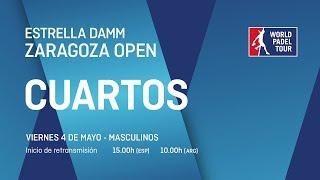 Cuartos de final masculinos - Estrella Damm Zaragoza Open 2018 - World Padel Tour