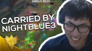 Video Doublelift - CARRIED BY NIGHTBLUE3! - League of Legends Season 8 Highlights MP3, 3GP, MP4, WEBM, AVI, FLV Juli 2018