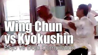 Video Wing Chun vs Kyokushin Karate - Dojo Invasion Compilation MP3, 3GP, MP4, WEBM, AVI, FLV Mei 2019