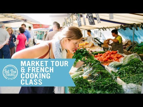 An Inside Look At A Market Tour & French Cooking Class In Paris!