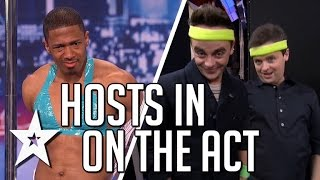 Video Nick Cannon, Ant & Dec In On The Act | America's Got Talent & Britain's Got Talent MP3, 3GP, MP4, WEBM, AVI, FLV Desember 2018