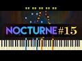 Nocturne in F minor, Op. 55 No. 1 // CHOPIN