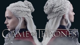 Here's a hairstyle tutorial on Daenerys Targaryen's hair from the game of thrones season 7 trailer! Keep your hairstyle game...