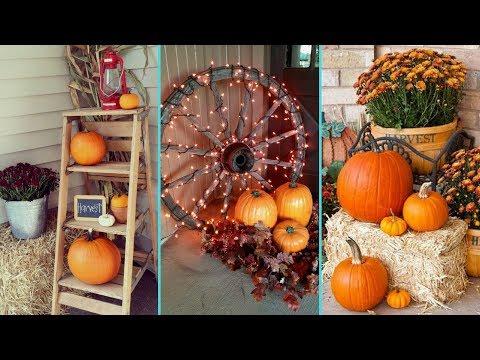 ❤ DIY Gorgeous Fall Front Porch decor ideas ❤| Home decor | Flamingo Mango