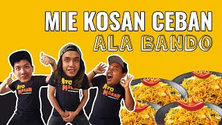 Video Mie Kosan CEBAN Ala BANDO | #BANDOBELIKE MP3, 3GP, MP4, WEBM, AVI, FLV Desember 2017