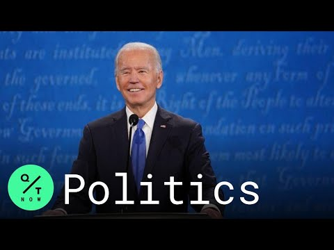 Biden at Presidential Debate: 'I'll Choose Science Over Fiction, Hope Over Fear'