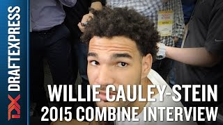 Willie Cauley-Stein 2015 NBA Draft Combine Interview