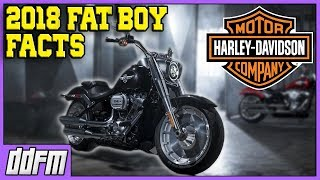 1. 2018 Harley Davidson FatBoy Specs and Info