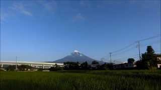 CASIO EXILIM EX-ZR850 TimeLapse 富士山(2015年6月22日)