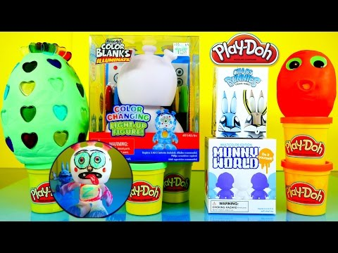 Arts - Rose Arts Color Changing Light Up Toy - How To Draw And Color - Play Dough Surprise Eggs - We Also Open Up A Kidrobot Chaos Bunnies And Munny World Do It Yourself Mystery Blind Box. Visit...