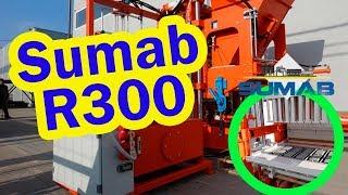 SUMAB Sweden R-300 Stationary Concrete Block machine youtube video
