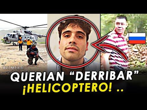 ¡FILTRAN AUDIOS! El Ruso pidiendo autorización para derribar helicóptero, en el Culiacanazo.