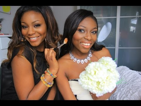 WEDDING MAKEUP LOOK FOR DARKER SKIN