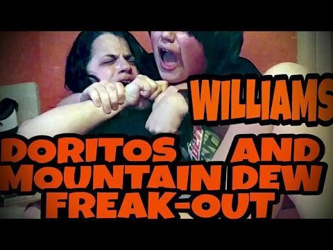 WILLIAM'S DORITOS AND MOUNTAIN DEW FREAK-OUT!!! (видео)