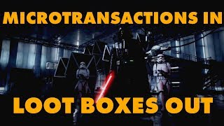 Video Loot Boxes Out, Microtransactions In For Star Wars Battlefront II MP3, 3GP, MP4, WEBM, AVI, FLV Maret 2018