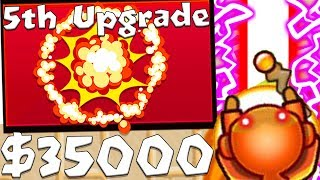 NEW FIRE TORNADO WIZARD TOWER - BLOONS TD BATTLES MOD