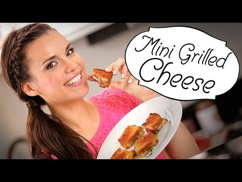 INGRID - Ingrid Nilsen aka missglamorazzi is back with a few recipes of her own creation. These mini grilled cheese sandwiches are all concoctions that Ingrid and her...