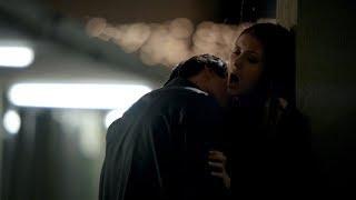 The Vampire Diaries: 3x19 - Elena and Damon motel kiss/make out hot scene [HD]