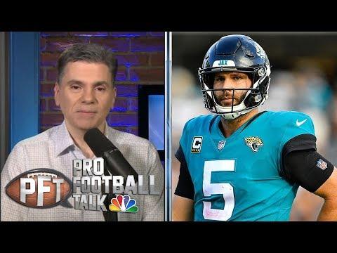 Video: Who will be Jacksonville Jaguars's quarterback next season? | Pro Football Talk | NBC Sports
