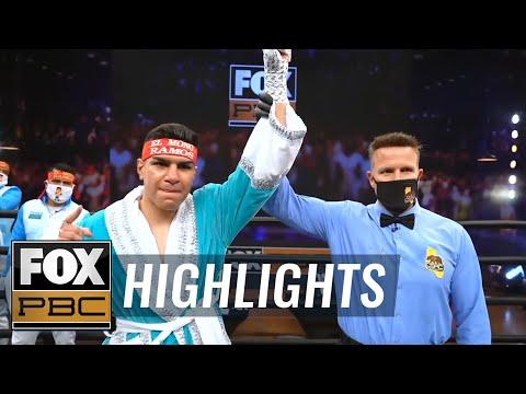 Jesus Ramos KO's Jesus Bojorquez in second round, improves to 15-0 | HIGHLIGHTS | PBC ON FOX