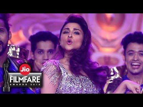 Parineeti Chopra Dance at Filmfare Awards 2018 | D