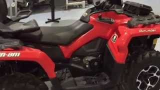9. 2014 Can-Am Outlander MAX 500 XT