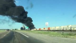 Perryton (TX) United States  City new picture : Perryton couple captures video after Panhandle train crash